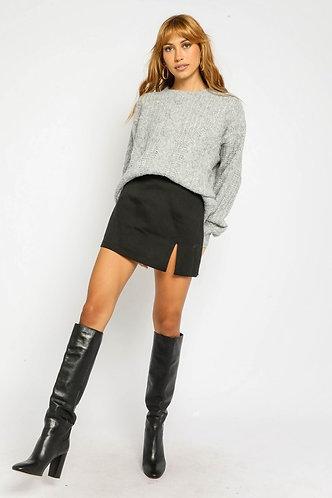 Joelle Mini Skirt in Black