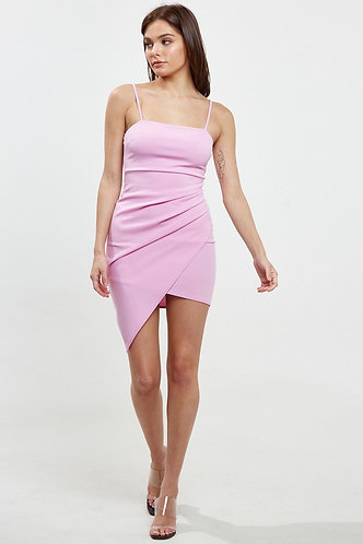 Backstage Pass Bodycon Dress in Orchid