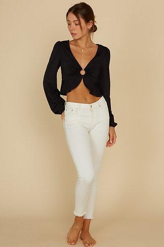Amira Top in Black