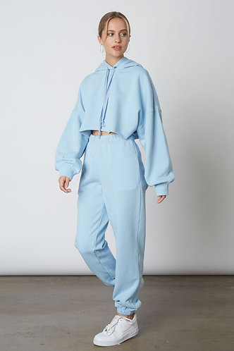 Travellers Lounge Pants in Sky Blue