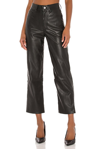 Levi's Ribcage Leather Pants