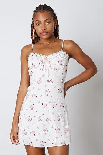 Sasha Floral Babydoll Dress in Pink