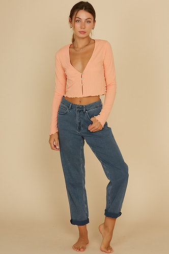 Teddy Top in Apricot