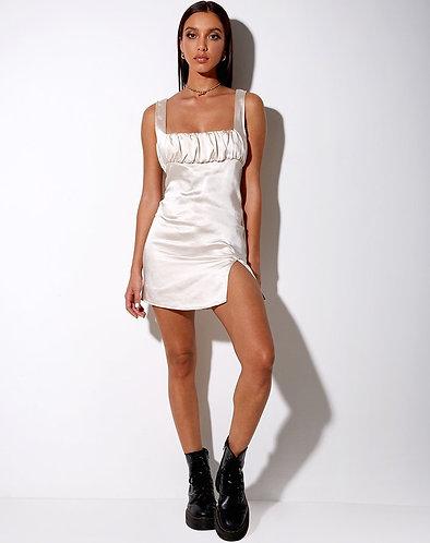 Lorin Satin Dress