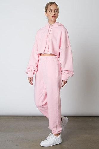 Travellers Lounge Pants in Pink