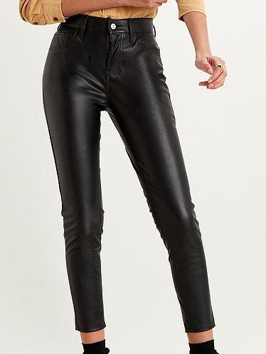 Levi's 720 High Rise Skinny Leather Pants