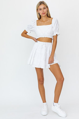 Sunkissed Summer Tiered Skirt