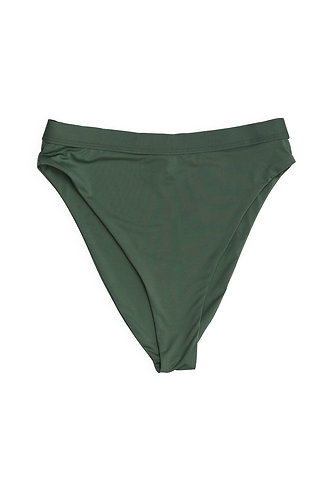 Seamless High Waist Bottom in Avocado