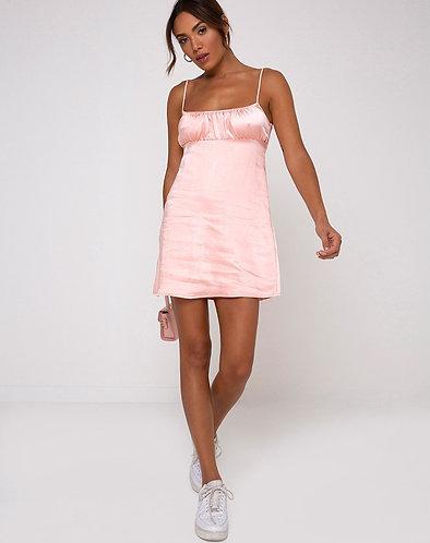 Dahlia Satin Dress