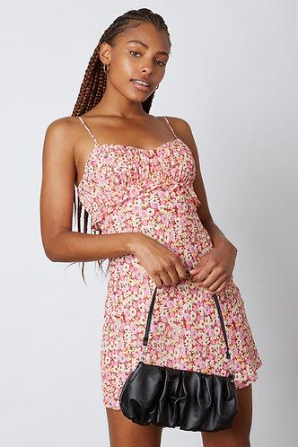 Ally Ruffle Floral Sun Dress