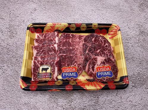 美國牛肉三重奏 (牛小排、牛板鍵、封門柳) ~300g