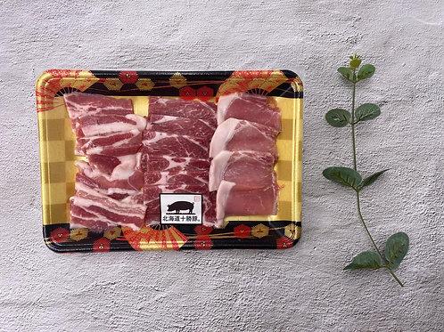 北海道十勝豚  燒肉片三寶 ~300g