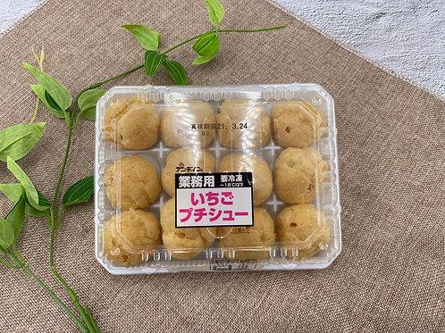 日本 士多啤梨 泡芙 12pcs