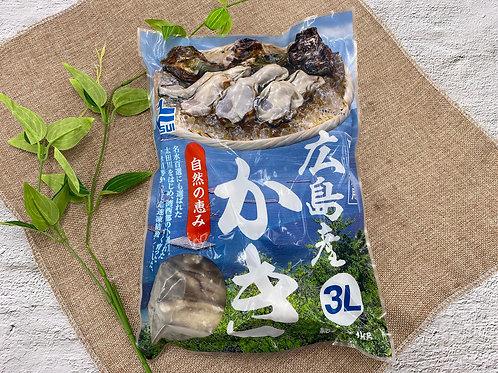 日本 廣島蠔 3L 26-30pcs, 1kg