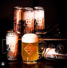 """Bissell Brothers, Three Rivers """"Gold Light"""" Brew Can."""