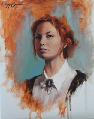 Red Head Portrait