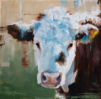 Cow Portrait #1