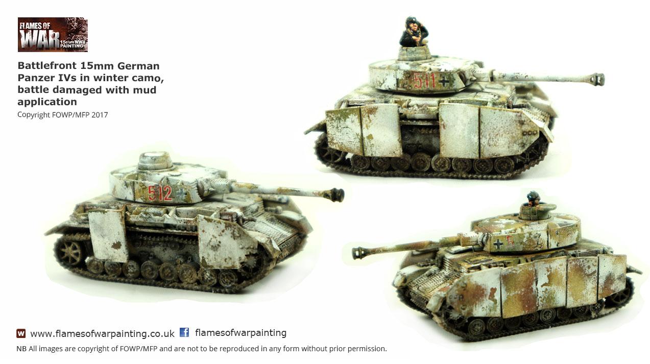 Battlefront 15mm German Panzer IVs i
