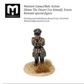 The Desert Fox, Erwin Rommel 28mm