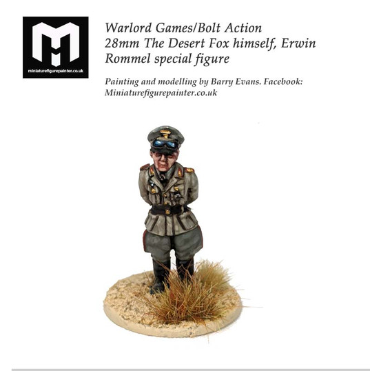 The Desert Fox, Erwin Rommel 28mm