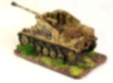 SHQ-20mm Marder Mk II - 75mm SP Gun painted by Flames of War Painting