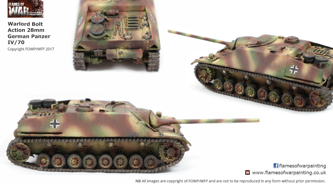 Warlord Bolt Action 28mm Panzer