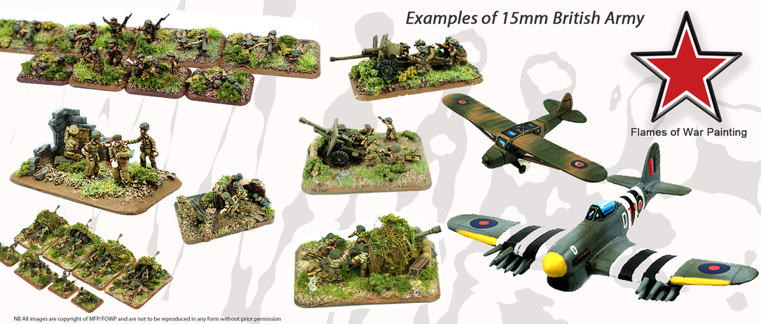 FOWP British army examples