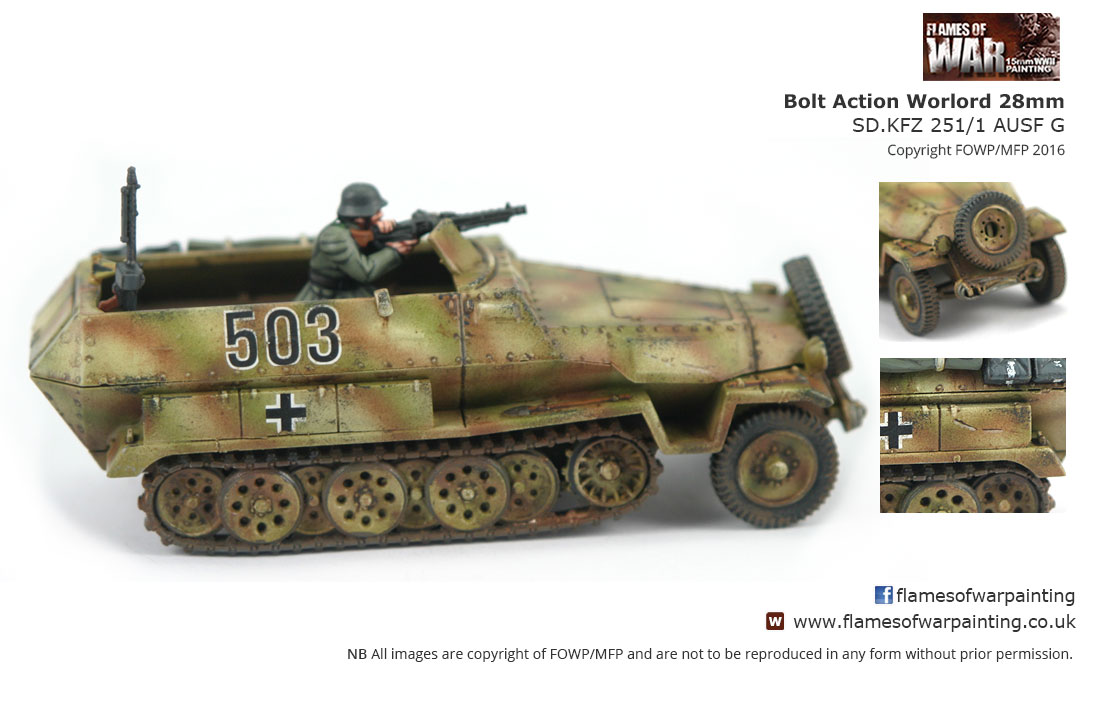 Bolt Action Worlord 28mm 2nd SD.KFZ