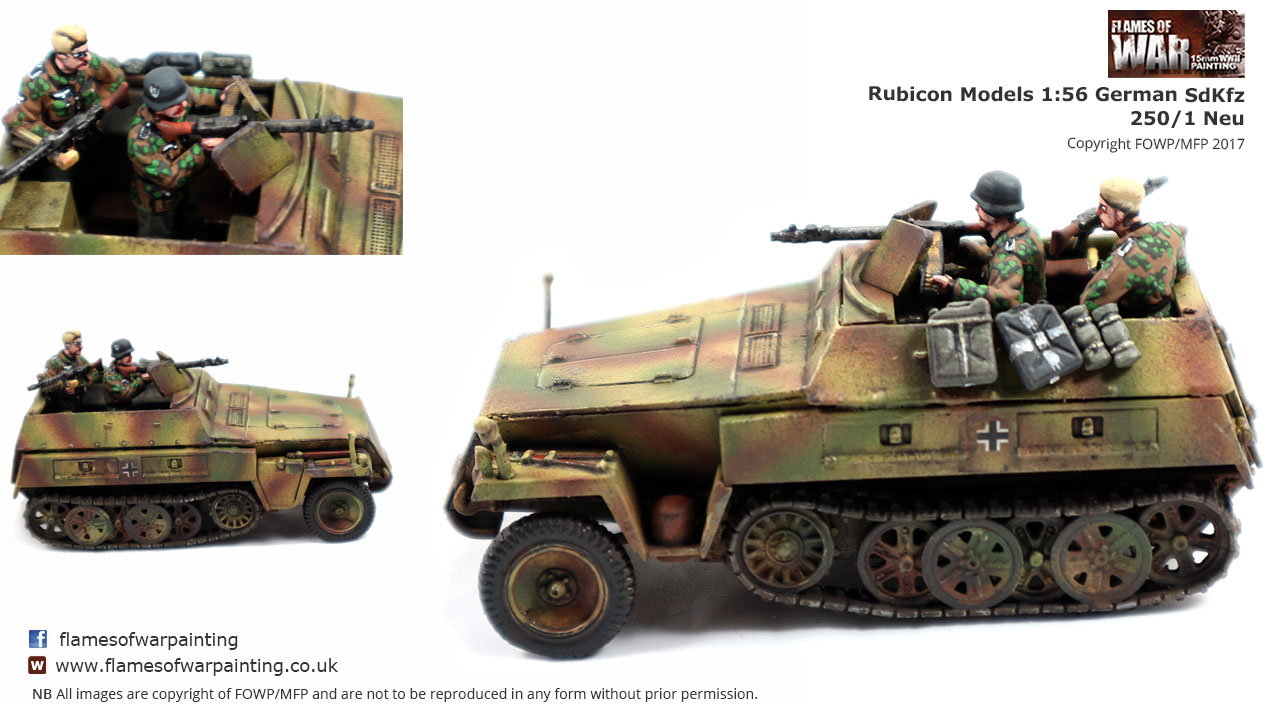 Rubicon Models 1:56 German SdKfz 250