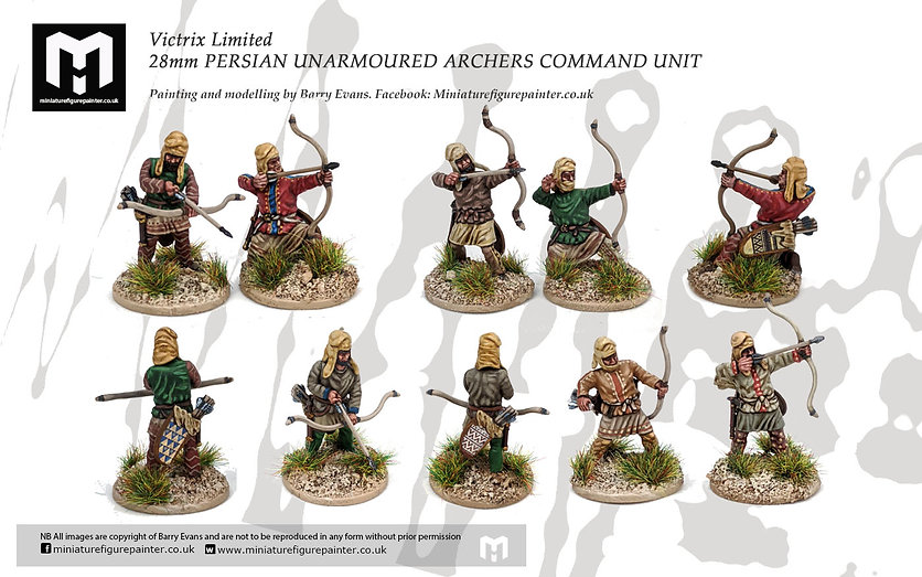 28mm-VICTRIX-PERSIAN-ARCHERS-group-shot.