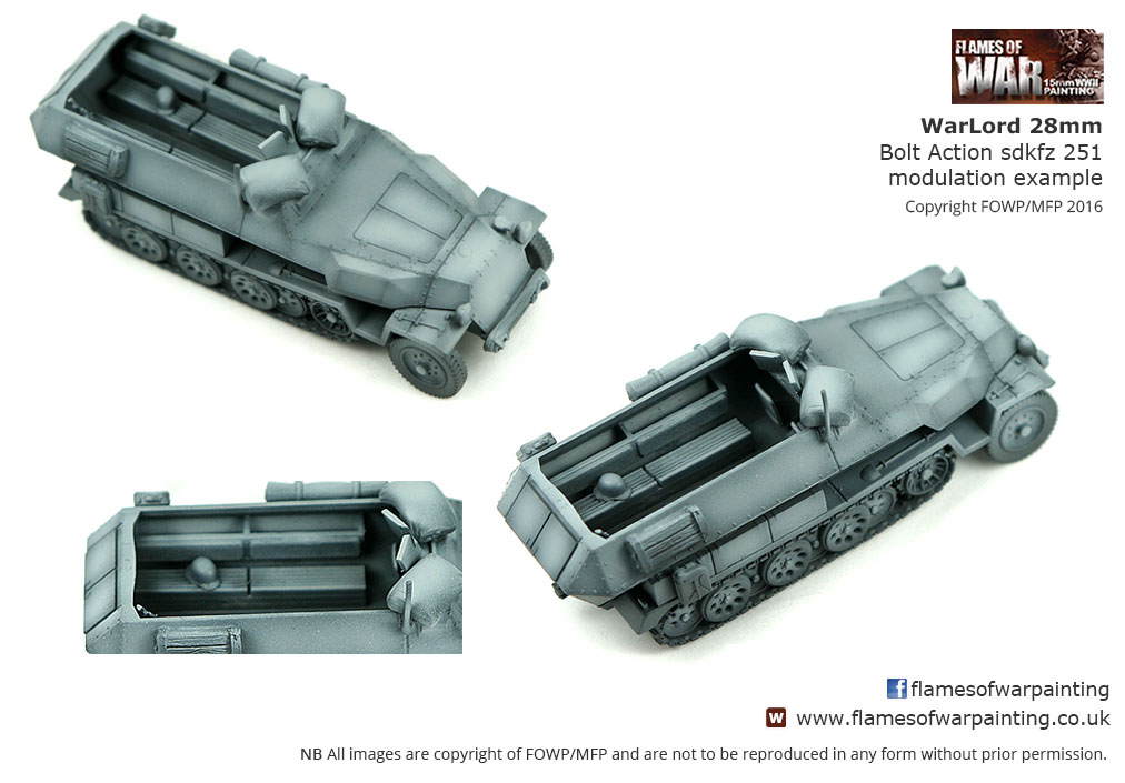 Warlord 28mm  Bolt Action sdkfz 251