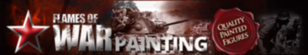 Flames of war painting Site Banner. 15mm and 28mm WW2 Wargames painting