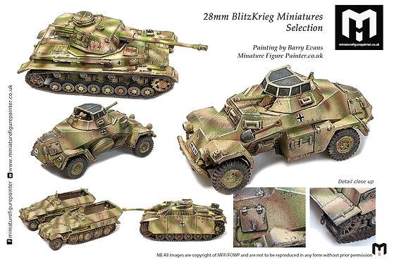 Blitzkrieg Miniatures Painting Service