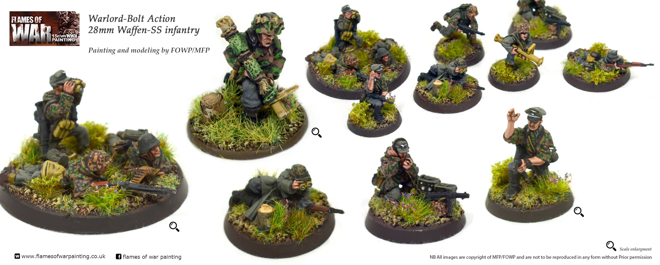 Bolt Action 28mm Waffen-SS inf