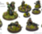 Warlord-Bolt Action _28mm Waffen-SS infa
