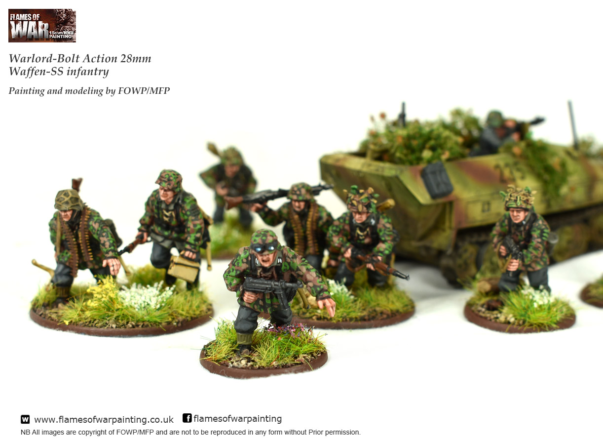 Warlord-Bolt Action 28mm Waffen-SS