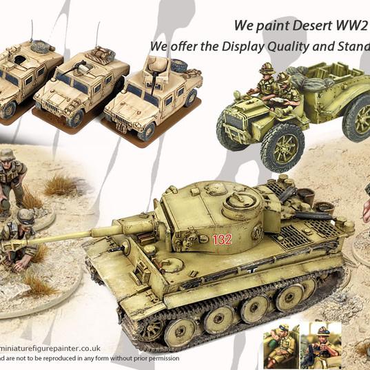 Desert Wargame Miniatures