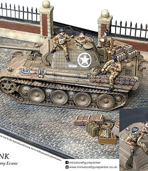 Bolt Action Painted  Miniature figure painting commissions