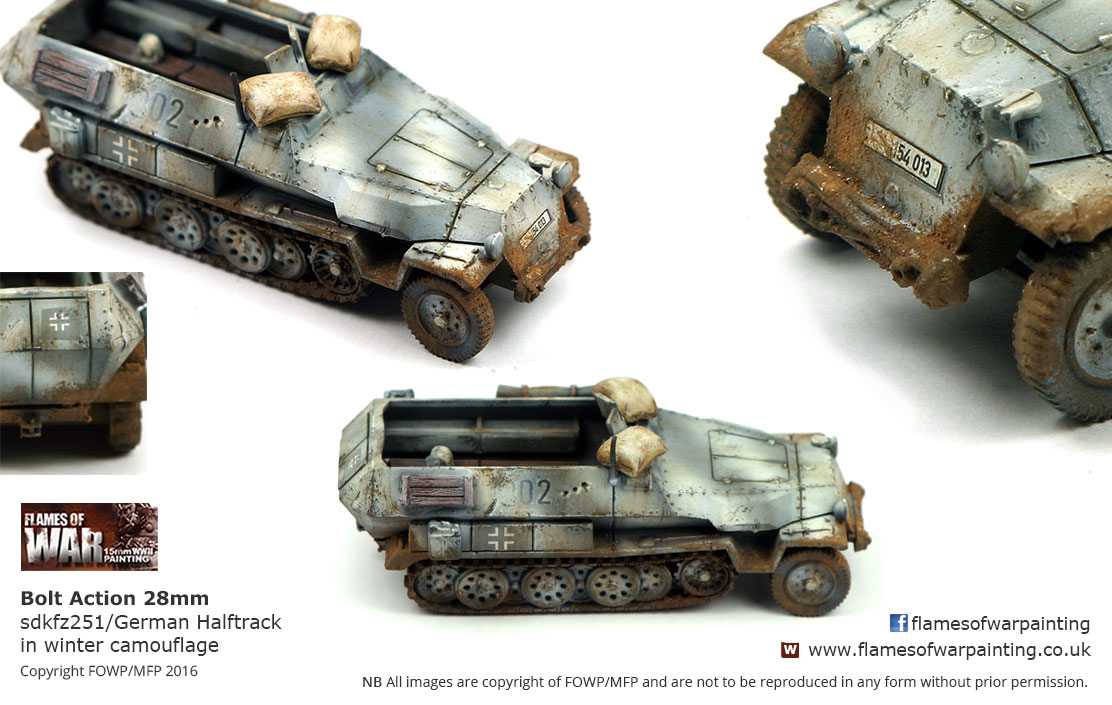 Bolt Action 28mm sdkfz251/German Hal