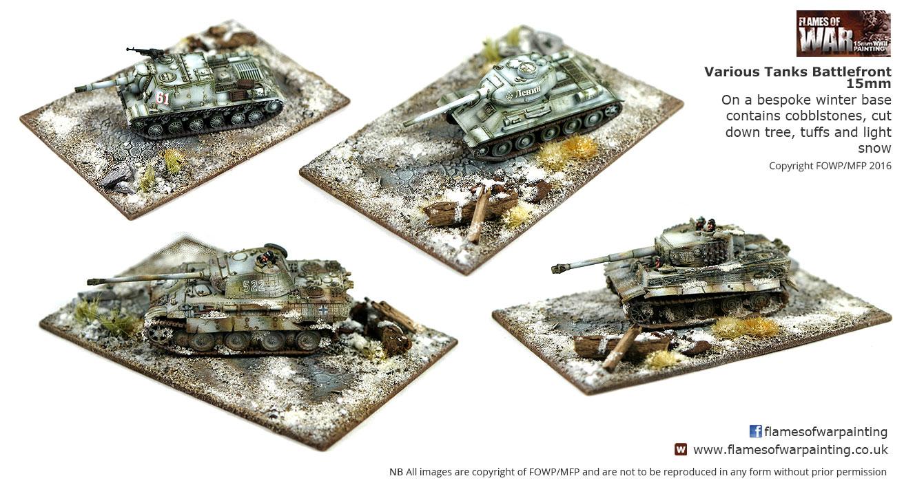 15mm tank various winter-bases