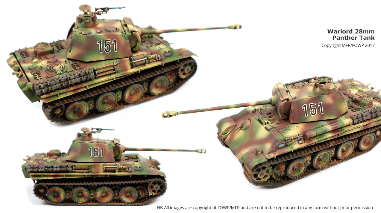 28mm late war panther bolt action
