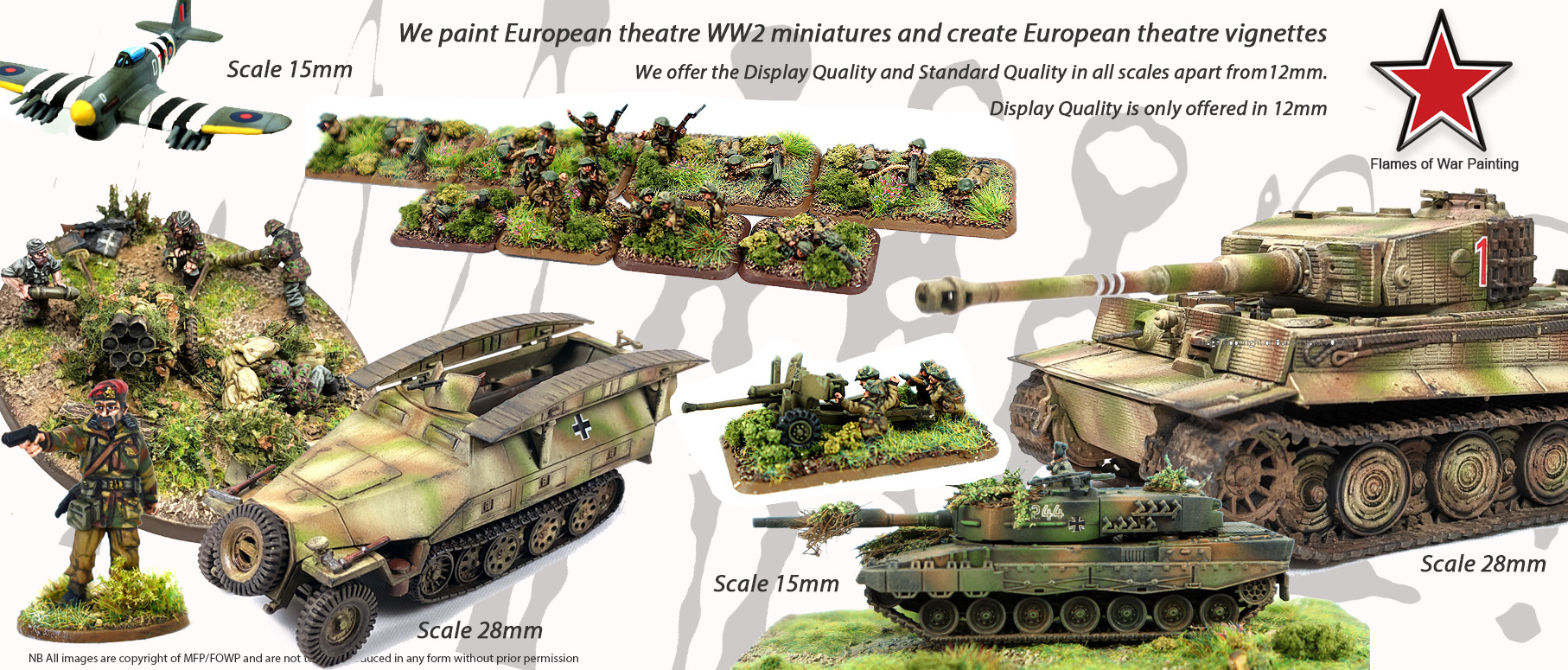 FOWP-15mm - 28mm miniatures european warfare