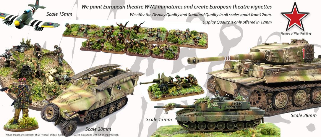 FOWP-15mm - 28mm miniatures european warfare