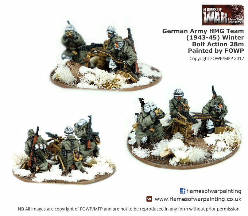 Bolt Action Painted 28mm German Heer