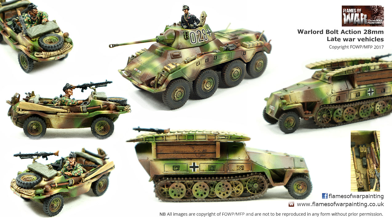 Warlord Bolt Action 28mm Late war ve