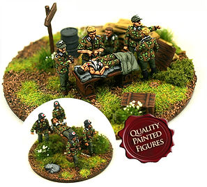 20mm SHQ First Aid Station painted by FOWP
