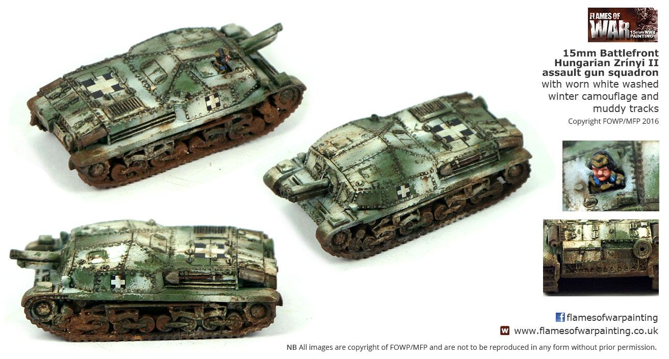15mm Battlefront Hungarian Zrínyi II