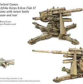 Warlord Games- Bolt Action DAK 88mm gun