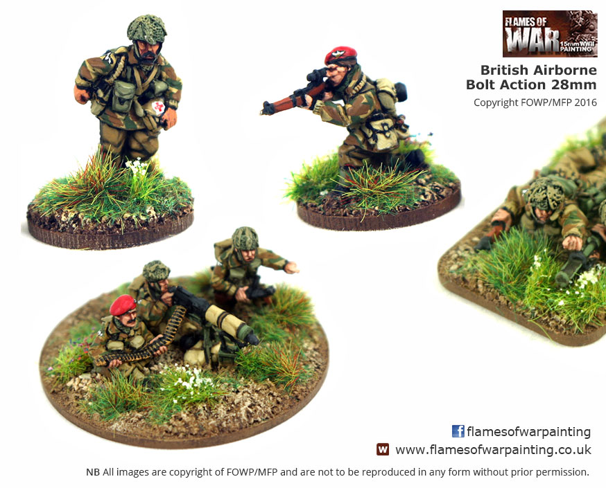 British Airborne  Bolt Action 28 mm