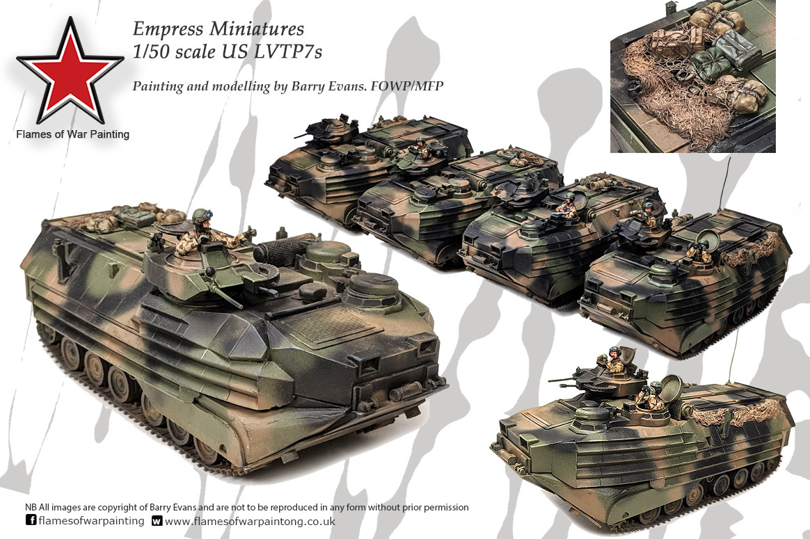 28mm Empress 28mm Miniaiautes US LVTP's